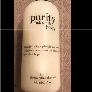 Purity body wash